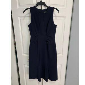 Navy Blue Sheath Dress